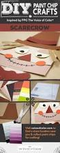 Diy Crafts Halloween 46 best halloween paint chip diy crafts images on pinterest