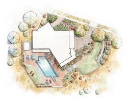 Site Plan Design by Landscape Plan Landscape Design Pinterest Landscaping