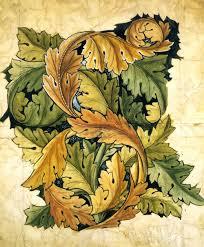 william morris acanthus wallpaper design william morris 1874