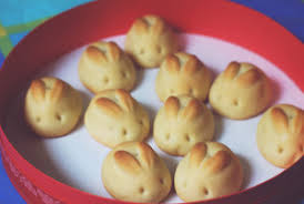 rabbit cookies hop the bunny trail for these easter treats the lone girl