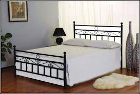 pretty black metal bed frame queen modern wall sconces and bed ideas
