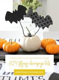 diy flying decoupage bats eighteen25