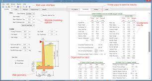 how to design restrained retaining walls using asdip retain