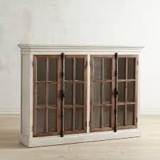4 Door Cabinet Cremone White 4 Door Cabinet Pier 1 Imports