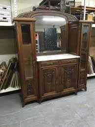 Marble Top Sideboards And Buffets Antique U0026 Vintage Sideboards U0026 Buffets For Sale In Online Auctions