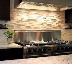 Stacked Stone Kitchen Backsplash  Great Home Decor Stacked - Layered stone backsplash
