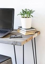 Homemade Wooden Computer Desk by Best 25 Reclaimed Wood Desk Ideas On Pinterest L Desk Rustic