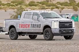 Ford Diesel Truck Fires - 2017 ford super duty spied up to 10 lug wheels