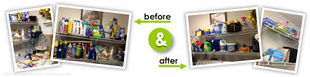 before and after decluttering a utility room come to order