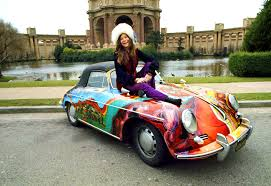 vintage porsche convertible jake u0027s car world janis joplin custom painted porsche 356 convertible