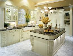 Luxury Kitchen Furniture by Alluring Sleek White Ceramic Floor Tile For Contemporary Kitchen