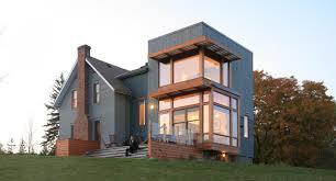 modern farm house plans farmhouse plan house old style distinctiveimalist small modern