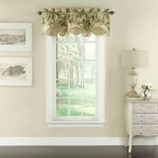 Window Treatment Valance Ideas Curtains Lovely Waverly Window Valances Curtain For Enchanting