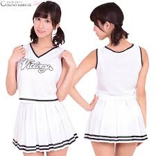 Cheerleader Halloween Costume Girls Cosmarche Rakuten Global Market Puffy Straining Cosplay