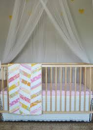 Daybed Dust Ruffle Sew An Easy Ruffled Crib Dust Ruffle The Diy