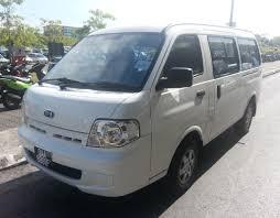 nissan urvan 15 seater chauffeur service kuching car rental