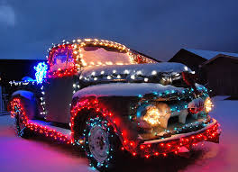 Christmas Vehicle Decorations Truck Decoration Lights Wanker For