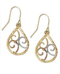 filigree earrings filigree earrings shop for and buy filigree earrings online macy s