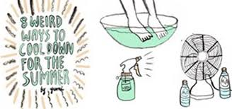 best way to cool a room with fans 8 weird ways to cool down for summer the secret yumiverse
