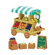 calico critters fruit wagon set toys