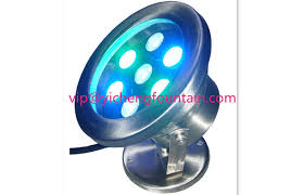 led fountain lights underwater 6w 12w 18w led underwater fountain lights ip68 stand type for