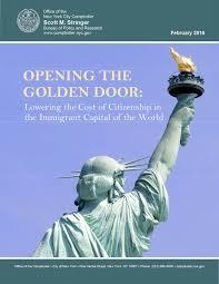 comptroller stringer report soaring costs create barrier to