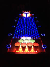Beer Pong Table Size Interactive Led Beer Pong Table Youtube