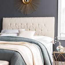 humble haute halifax ivory linen diamond tufted upholstered