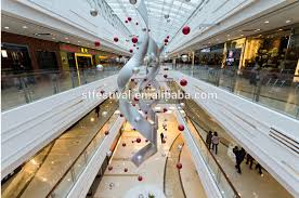 Christmas Decorations For Shopping Centres by 2015 Wholesale Shopping Mall Christmas Atrium Decoration Buy