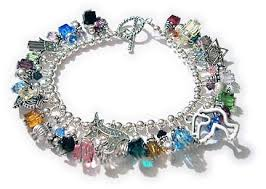 handmade bracelet charms images Chanukah gifts jewish charm bracelet hamsa menorah peace dove jpg