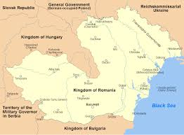 Romania Map German Troops To Aid Romania World War Ii Day By Day