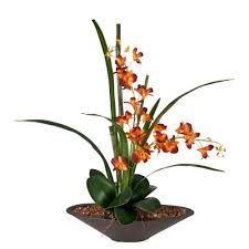 faux orchids florals orchid faux flowers and plants bellacor