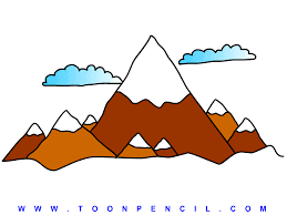mountain drawing kids becuo building plans online 7511