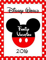 2015 disney world planner or binder covers and functional