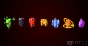 Dota 2 Runes Wallpaper | i made a wallpaper out of all the runes what do you guys think dota2