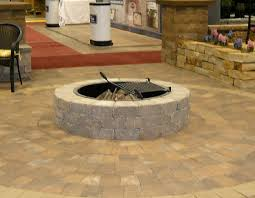 Backyard Patios With Fire Pits Furniture U0026 Accessories Imitating Fire Pit Kit This Old House As