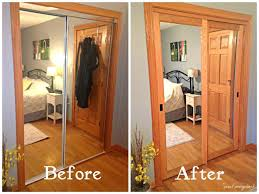 Used Closet Doors Closet Mirror Sliding Closet Doors We Used To These