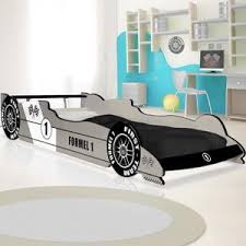 chambre enfant formule 1 lit enfant voiture formule 1 gris 90 cm x 200 cm sommier inclus