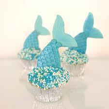 mermaid cupcakes cookie and sprinkles set
