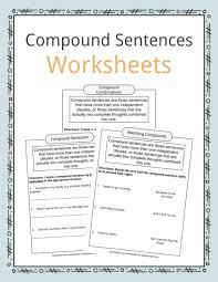 Flag Day Reading Comprehension Worksheets Compound Sentences Worksheets Examples U0026 Definition For Kids