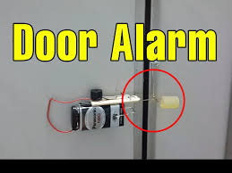 Funny Door Stops by Make A Cool Door Alarm Anti Theft At Home Funny Ideas Youtube