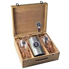 wine set gifts presidential seal wine box set white house gifts