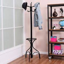 coat rack stand tree clothes holder hat hanger metal hook