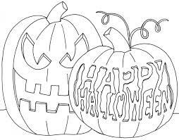 Halloween Scary Coloring Pages by