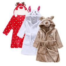 robes de chambre enfants dé filles de couchage robe de mode robe de chambre enfants
