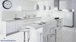 cuisine moderne et blanc decor decoration cuisine moderne et blanc