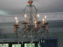 French Chandelier Antique Antique French Chandelier After