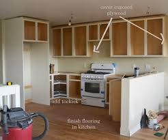 kitchen cabinet end ideas finishing details on kitchen cabinets white