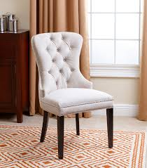 Tufted Dining Chair Dining Chairs Versailles Velvet Dining Chair Ivory