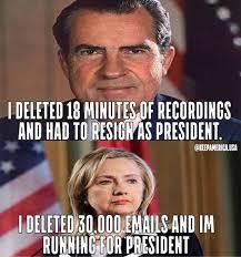 Hillary Clinton Benghazi Meme - the difference between hillary hillary and richard nixon